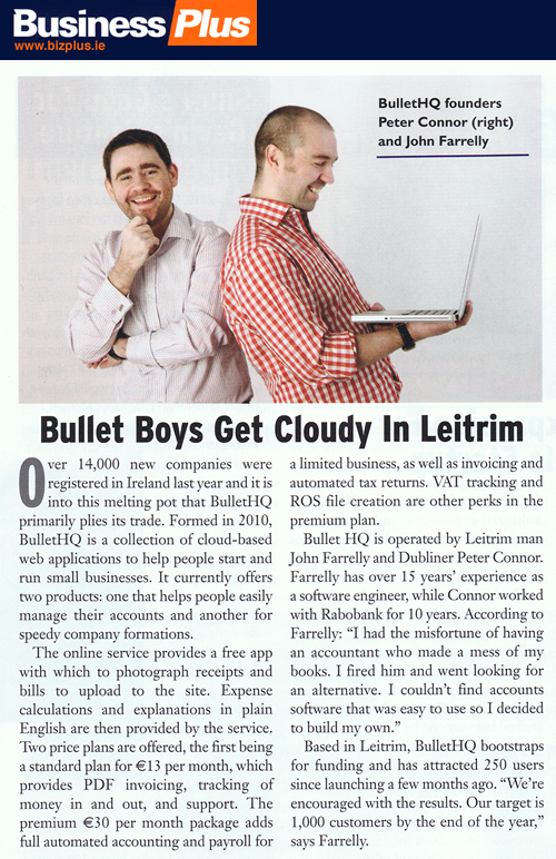 Bullet Online Accounting Software Interview - Business Plus