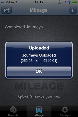 Fig 4. Mileage Calculation for Bullet iPhone App - iPhone App For Mileage