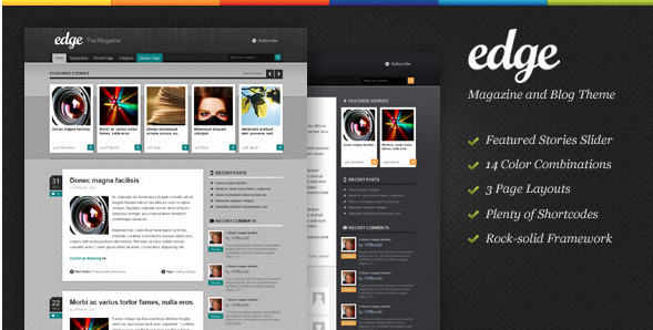 Bullethq: WP Edge Theme from Theme Forest