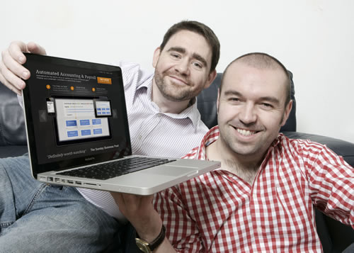 John Farrelly (L) Peter Connor (R) - Founders of Bullet's Online Accounting Software