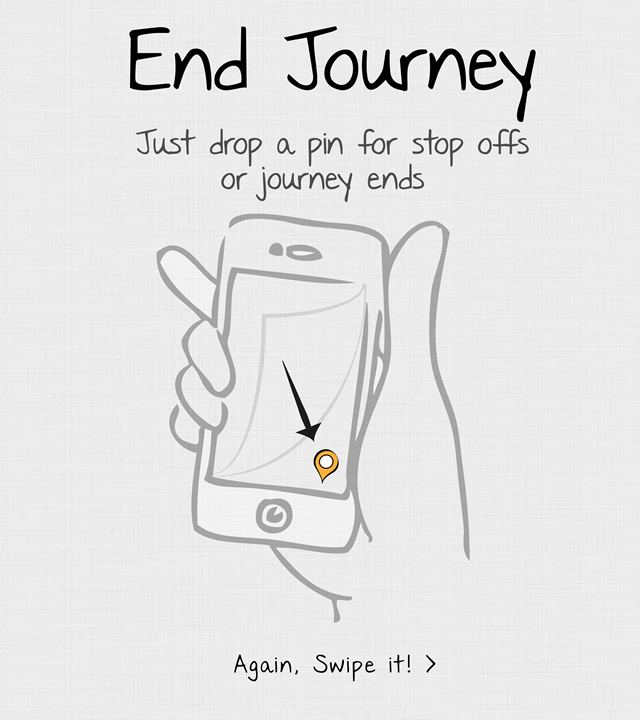 Step 2/3 - iPhone-Tour-2-End-Journey