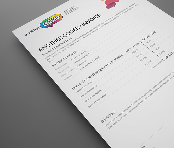 5 Tips For Professional Invoice Templates