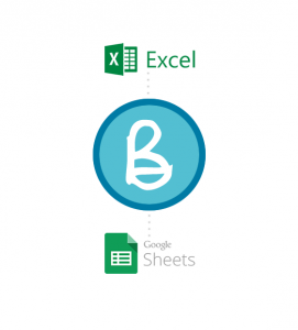 Image showing Bullets small business reports can be exported into MS Excel or Google Sheets