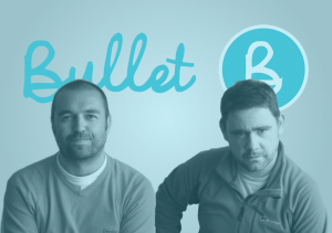 Image of Peter Connor and John Farrelly - Co-founders of Bullet