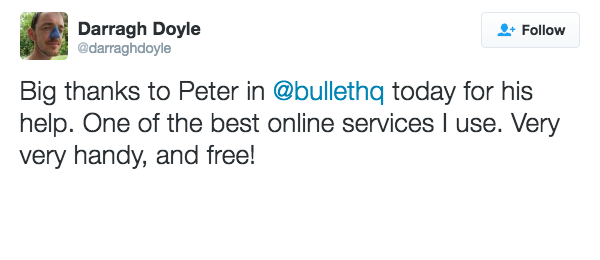 customer review bullet dara doyle